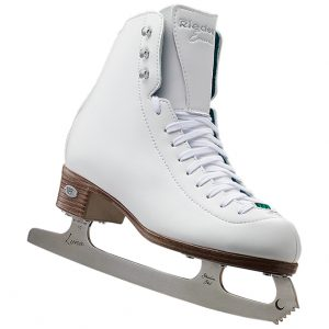 Riedell 19 Emerald Figure Skate Girls